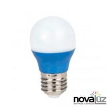 Lampada Super Led Ourolux Bolinha 5w Azul - 1