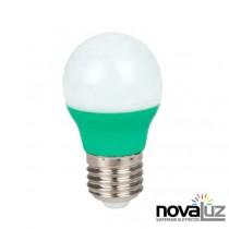 Lampada Super Led Ourolux Bolinha 5w Verde - 1