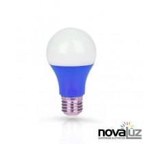 Lampada Super Led Ourolux Ouro 60 7w Azul - 1