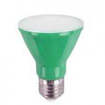 Lampada Super Led Ourolux Par 20 6w Verde Biv - 1