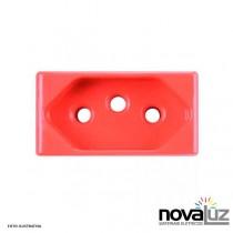Tramontina Tablet Modulo Tomada 2p+t 20a Verm 57115/ - 1