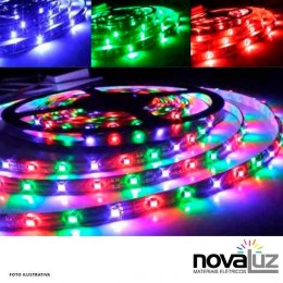 Fita Led Urs 5mt Rgb - 1